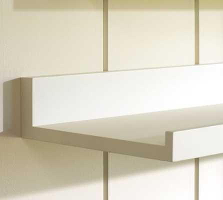 Holman Shelve - 5' - Modern White - Pottery Barn