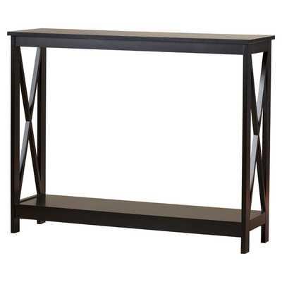 Washington Console Table -Black - Wayfair