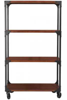 Industrial Empire Bookcase - Home Decorators