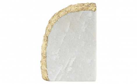 GOLD ROCK BOOKEND - Jayson Home
