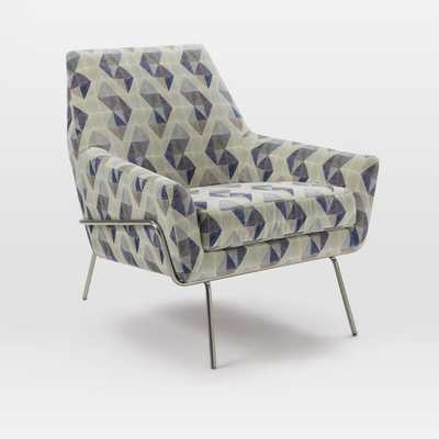 Lucas Wire Base Chair - West Elm