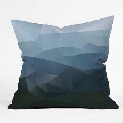 FIRST LIGHT Throw Pillow- 18'' x 18''- insert included - Wander Print Co.