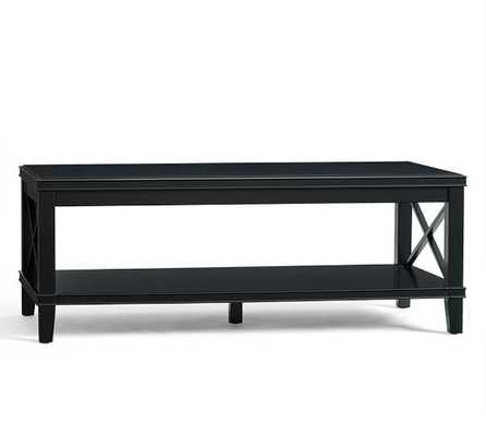 Cassie Coffee Table - Black - Pottery Barn
