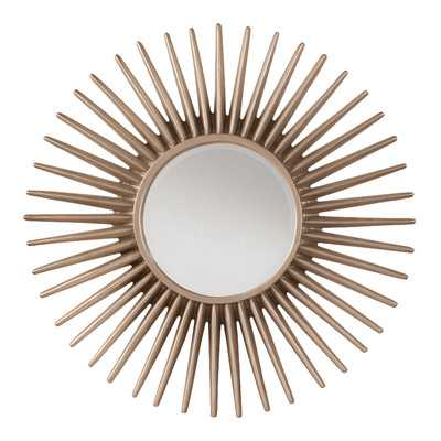 Ella Sunbeam Decorative Beveled Wall Mirror - Wayfair