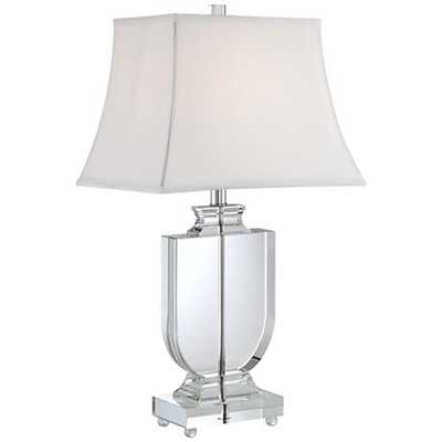 Tilde Clear Crystal Urn Table Lamp - Lamps Plus