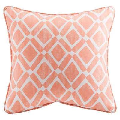 Natalie Printed Square Throw Pillow 2 Pack - Wayfair