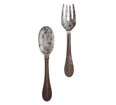 Metal Spoon & Fork Wall Art - Pottery Barn