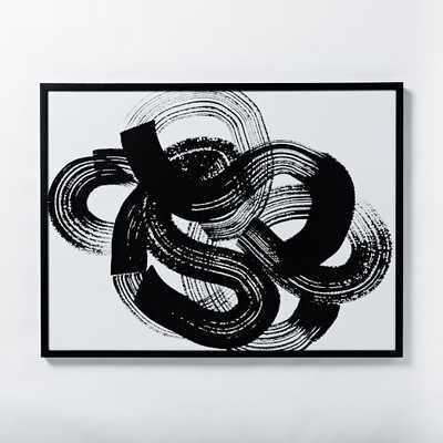 Julia Kostreva Wall Art - Knot III - Framed - West Elm