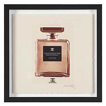 Coco Blush - Framed with mat - Z Gallerie