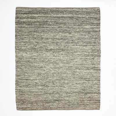 Sweater Wool Rug - 9'x12' - Charcoal - West Elm
