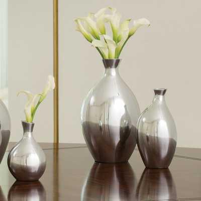 Spry Vase - Small - Aluminum - Wayfair