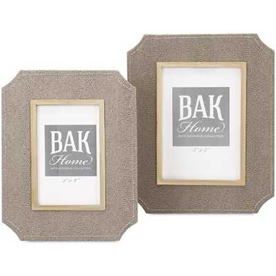 Beth Kushnick Photo Frames (Set of 2) - High Fashion Home