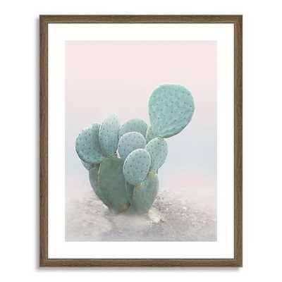 """Minted for west elm - Little Cactus - 21"""" x 26"""" - Framed (With mat) - West Elm"""