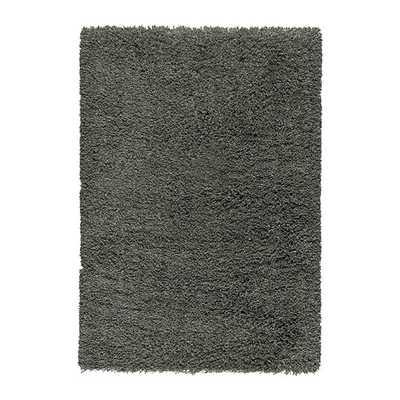 """GÅSER Rug, high pile, dark gray - 5'7"""" x 7'10"""" - Ikea"""