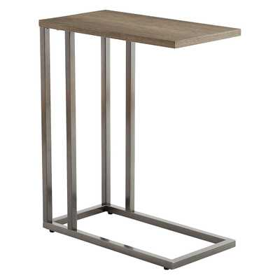 Rustic Driftwood C-Table - containerstore.com