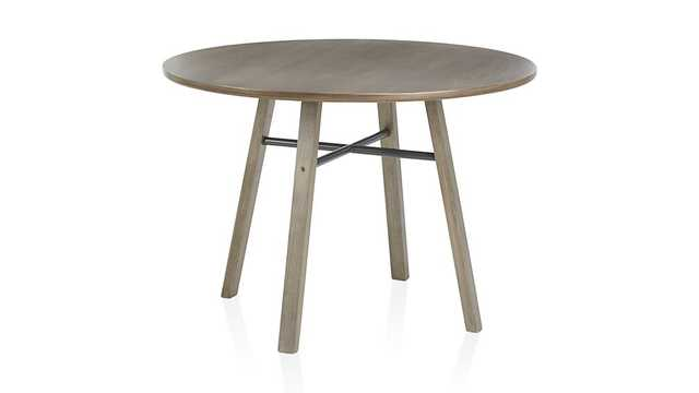 Scholar Round Dining Table - Crate and Barrel