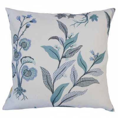 Set of 2 Wyeth Floral Throw Pillows in Indigo - eBay