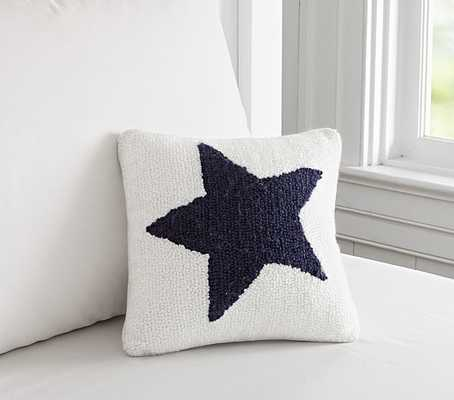 """Star Decorative Pillow - 10"""" square - Polyester Fill - Pottery Barn Kids"""