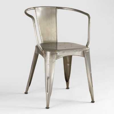 Metal Jackson Tub Chair - World Market/Cost Plus