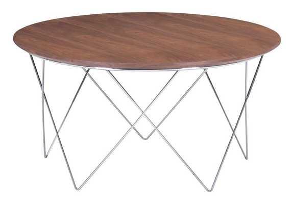 Macho Coffee Table Walnut - Zuri Studios