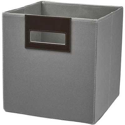 Spencer Fabric Bin choose fabric storage bins in elegant colors - Home Depot