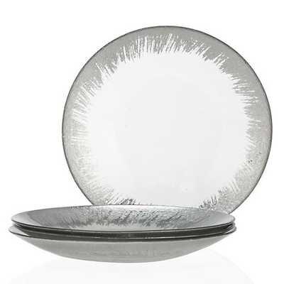 Solaris Dinnerware - Sets of 4 [Dinner Plate - Set of 4] - Z Gallerie