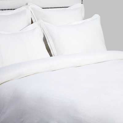 Camerson Bedding [Queen Duvet Cover -White] - Z Gallerie