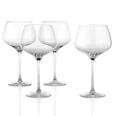 Essential Stemware - Sets of 4 [Red Wine Glass - Set of 4] - Z Gallerie