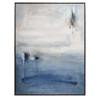 """Blue Desolation [41""""W x 54.5""""H] - Z Gallerie"""