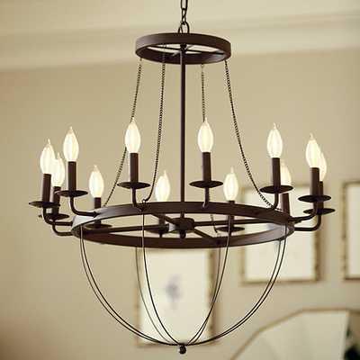 Lourdes 12-Light Chandelier - Ballard Designs