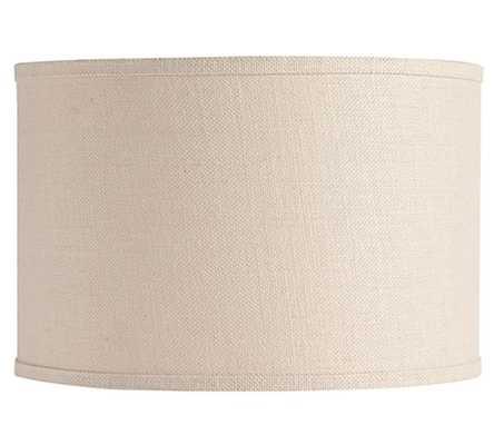 Burlap Drum Lamp Shade - Extra-Large - Pottery Barn