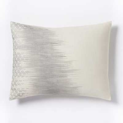 Abstract Ikat Standard Sham - West Elm