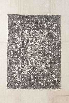 Magical Thinking Izmir Maze Printed Rug - Grey - 5' x 7' - Urban Outfitters