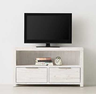LAGUNA MEDIA CONSOLE - Whitewashed Natural - RH Teen