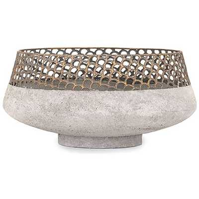 Rowan Metal Bowl - High Fashion Home