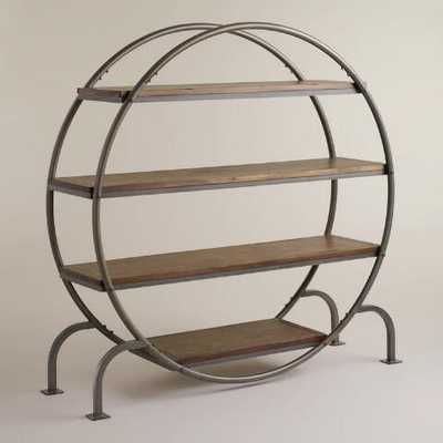 Round Bookcase - World Market/Cost Plus