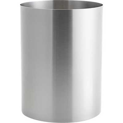 Stainless steel wastecan - CB2