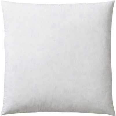 "Feather-down 18"" pillow insert - CB2"