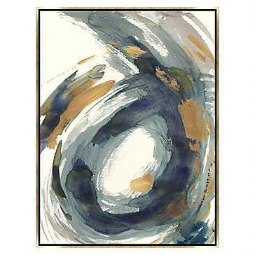 """Stir About 1 - 30"""" x 40"""" - Gold frame - No mat - Z Gallerie"""