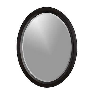 Colette Oval Wall Mirror - Crate and Barrel