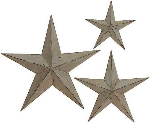 WALL STARS - SET OF 3 - Home Decorators