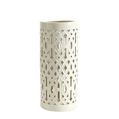Vine Umbrella Stand - White - Ballard Designs