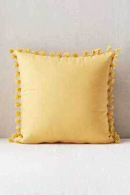 Magical Thinking Avery Tassel Pillow - with insert - Urban Outfitters