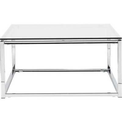Smart glass top coffee table - CB2