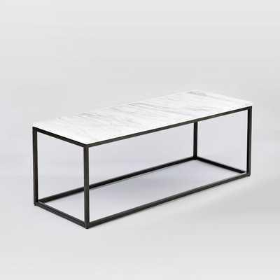 Box Frame Coffee Table- Narrow - West Elm