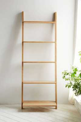 Assembly Home Leaning Bookcase - Brown - Urban Outfitters