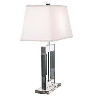 Vienna Full Spectrum Crystal Window Table Lamp - Lamps Plus