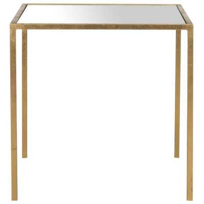 Safavieh Treasures Kiley Gold/ Mirror Top Accent Table - Overstock