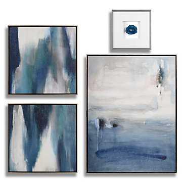 Sapphire Art - Set of 4 - Frame - Z Gallerie