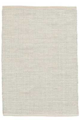 MARLED LIGHT BLUE WOVEN COTTON RUG - Dash and Albert